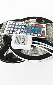 ZDM ™ 10m 150x5050 vanntett smd RGB LED stripe lys og 44key fjernkontroll and1bin2 forbindelseslinje (DC12V)