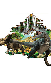 3D Wall Stickers Wall Decals, Dinosaur World PVC Wall Sticker