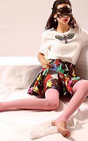 BONAS Women's Solid Color Medium Legging-@98002