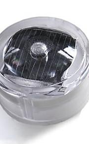белый свет водить солнечной энергии на открытом воздухе водонепроницаемый пол / двор / сад / лужайка 30000 (ч) 8 (лм) ip65 3v пейзаж лампа