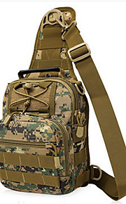 8 L mochila Acampada y Senderismo Al Aire Libre Impermeable / Multifuncional Camuflaje Nilón