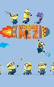 Bande dessinée / Mots& Citations / Nature morte / Mode / Loisir Stickers muraux Stickers avion Stickers muraux décoratifs,PVC Matériel