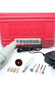 DIY liten elektrisk drill miniatyr elektriske sliping mill jeksel sett