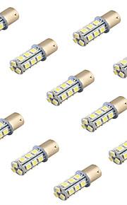 youoklight® 10stk 4w 200lm 18 x SMD 5050 førte hvide bil signallys / styretøj lampe - (12V)