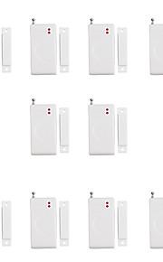 433mhz système d'alarme de sécurité à la maison de cambrioleur capteur magnétique de porte sans fil