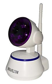 hosafe sv04 720p trådløs pan / tilt ip kamera / 4stk vifte IR LEDs / tovejs tale / bevægelsesdetektering nyhedsmail