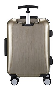 Unisex-Outdoor-Metal-Luggage-Blue / Gold / Silver / Black / Burgundy