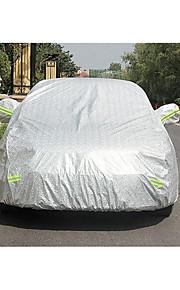 bilindustrien leverancer aluminium sølv hatchback bil dækning
