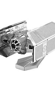 Rompecabezas juguete de la novedad Bloques de construcción Juguetes de bricolaje / 1 Metal Plata Modelismo y Construcción