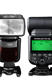 sidande df-550 Speedlight fotocamera reflex top esterno Speedlight lampada Flash per Canon / Nikon / Pentax / Fujifilm / samsung