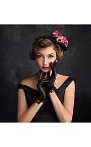 Women's Tulle / Flax / Net Headpiece-Special Occasion Fascinators 1 Piece Clear Irregular 15