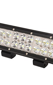 "kawell® 54W 9 ""Cree LED lys til atv / jeep / båd / suv / lastbil / bil / ATV'er / fiskeri lysplet og oversvømmelse combo stråle"