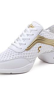 Sapatos de Dança(Preto / Branco / Cinza) -Feminino-Não Personalizável-Tênis de Dança