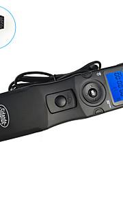 sidande® 7103 lcd tid bortfalder Intervalometer fjernbetjening timer udløserknappen til sony A300 / a350 / A700