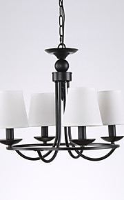 5 Chandelier ,  Country Painting Feature for Mini Style Metal Living Room / Bedroom / Dining Room