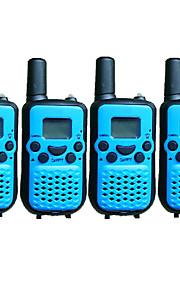 T899446CTCSS4P Walkie-talkie 0.5W 8 Channels 400-470MHz AAA alkaline battery 3km-5kmVOX / achtergrondverlichting / Encryptie /