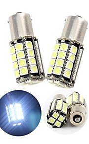 2pcs blanco frío 1156 36smd 5050 bombillas de luz LED inversa de copia de seguridad (dc12v)