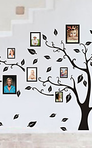 Family Tree Photo diy pvc wall sticker vintage posters mural decor brick wallpaper Decorative diy Mural Wallpaper