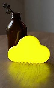 עננים מנורת USB נטענת הוביל אור לילה מגע שליטה קולית מנורת אור השליטה אינטליגנטי