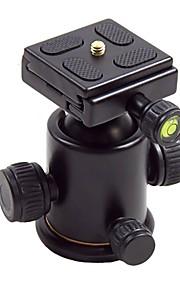hy-3 tilt hoved aluminiumslegering bolden holder med quick release plade til digitalt kamera max belastning 5 kg