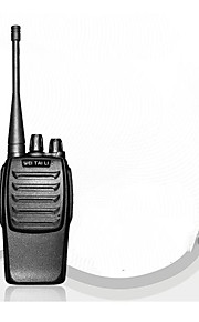 T1 Walkie-talkie No Mentioned No Mentioned 400 - 450 MHz No Mentioned 3 Km - 5 Km Funzione di risparmio energetico No Mentioned
