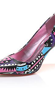 Homme-Mariage / Habillé / Soirée & Evénement-Noir / Rose-Talon Aiguille-Talons-Chaussures à Talons-Similicuir