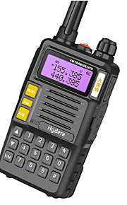 TG-45UV Walkie-talkie No Mentioned No Mentioned 400 - 450 MHz No Mentioned 3 Km - 5 Km Funzione di risparmio energetico No Mentioned