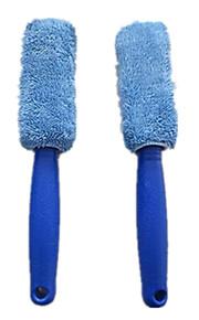 Cepillo de lavado de coches de neumáticos de fibra superfina