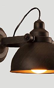 E27 23CM 10-15㎡ Loft, Wrought Iron Pot, Creative Vintage Wall Lamp Led Lights