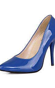 Women's Heels Summer/ Pointed Toe Patent Leather Office & Career / Casual Stiletto Heel OthersBlack / Blue / Yellow /