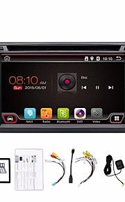 2 din 6.2 pollici 800 * 480 schermo giocatore universale dell'automobile DVD GPS di autoradio navi in precipitare bt video stereo SWC