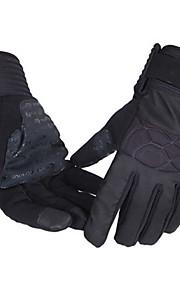 Guantes Ciclismo/Bicicleta Todo Dedos completosA prueba de resbalones / Mantiene abrigado / A prueba de viento / Listo para vestir /