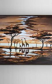 Håndmalte Landskap / Dyr / fantasi / Abstrakte Landskap olje~~POS=TRUNC malerier~~POS=HEADCOMP,Moderne / Klassisk / Parfymert / Europeisk