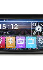 2 din 6.2''car dvd-speler met gps navi radio / rds in dash ingebouwde 3g wifi bt swc mirror-verbinding usb / sd