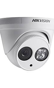 """hikvision® ds-2cd2345-i 2.8mm 4MP 1/3 """"CMOS ICR dag&nat udendørs mini dome sikkerhed ip overvågningskamera"""