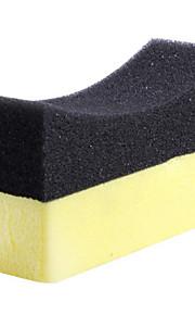 2 stk multi-purpose multi-funktionelle anti-hjørner PVA rengøring svamp