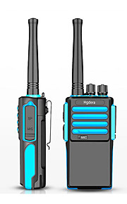 tc-500s Walkie-talkie 10W Not Mentioned 400-470 mHz 1850mAh 3-5 km Strømsparefunktion Not Mentioned Tovejs-radio