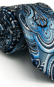Cravate Vintage / Mignon / Soirée / Travail / Décontracté Rayonne Homme