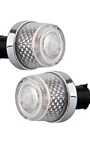 2 stuks motorfiets rgb stuurgreep leidde eind marker lights bollen lampen