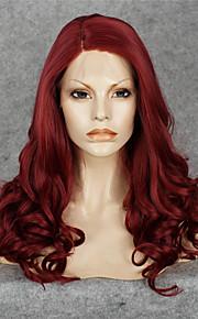 Lace Wig Parykker til kvinner Rød costume Parykker Cosplay Parykker