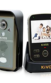 30W 170 CMOS Dørklokke System Trådløs Flerfamiliehuse video dørklokken