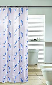 Современный Полиэфир 170*200cm ( L x W )  -  Высокое качество Шторка для ванной