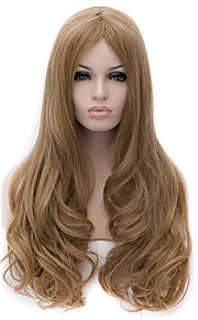 New High-Quality European and American Popular Gold Flax Fiber Wig