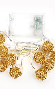휴일 파티 결혼식을 위해 1 개를 1.4M 10led 문자열 조명 크리스마스 조명을 주도