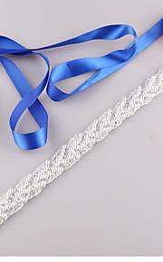Satin Mariage / Fête/Soirée / Quotidien Ceinture-Billes / Imitation de perle Femme 250cm Billes / Imitation de perle