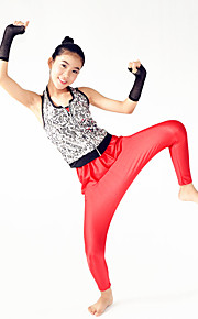 Performance Outfits Women's / Children's Performance Spandex / Sequined Hip-Hop /  5 Pieces Modern Dance