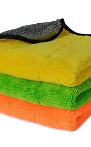 autoyouth super tyk plys microfiber bil rengøringsklude bilpleje mikrofiber voks polering detaljer håndklæder 3 farver