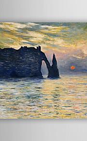Peint à la main Paysage Peintures à l'huile,Modern Un Panneau Toile Peinture à l'huile Hang-peint For Décoration d'intérieur