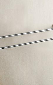 Barre porte-serviette / Miroir Poli / Fixation Murale /24*3.9*1.95 inch /Laiton /Contemporain /61CM 10CM 0.8