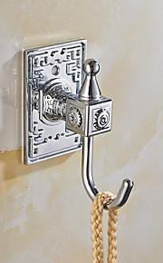selvklebende kappe krok med 3m tilbake klistremerke sølv kroker 6pcs / set yg6pc-en